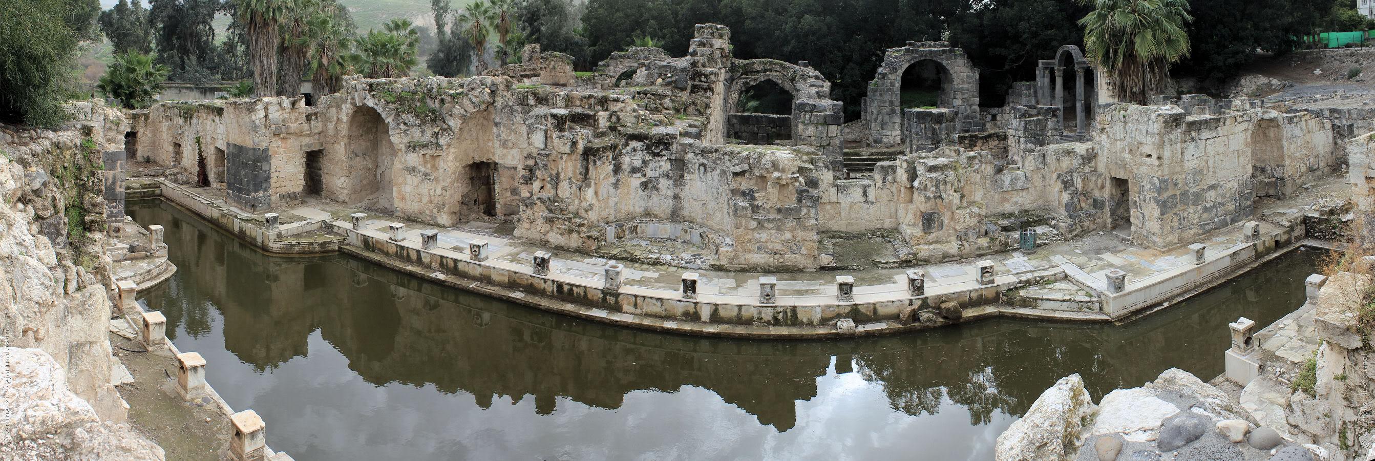 Хамат-Гадер, раскопки